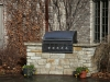 Custom Outdoor Stone Cooktop & Kitchen in Deephaven