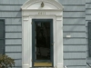 BEFORE: Front Entry Before new Stone & Brick Stoop & Custom Portico