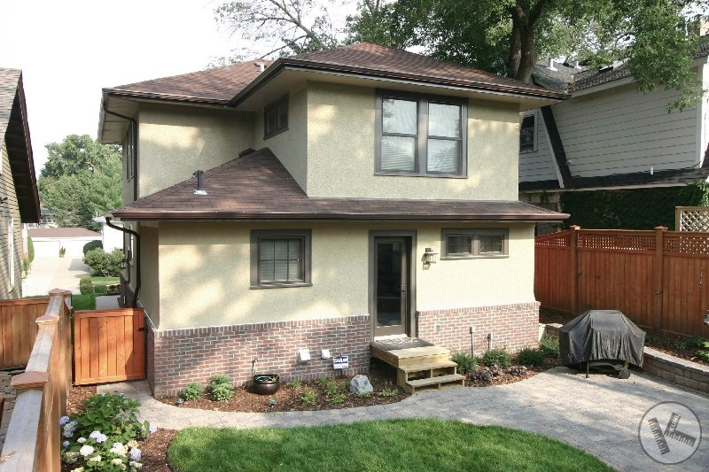 New Brick and Stucco on New Home Addition (Minneapolis, MN)