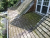 Minneapolis Cedar roof cleaning before Kuhl A