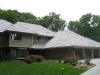 AFTER: Applying Wood Preservative to a Cedar Roof (Edina, MN)