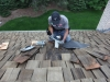 Flashing Replacement on Edina Home's Cedar Roof