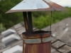 Furnace Flue Cap That Needs Repair on Eden Prairie Cedar Roof