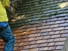 Removing Moss From a Cedar Roof in Minneapolis