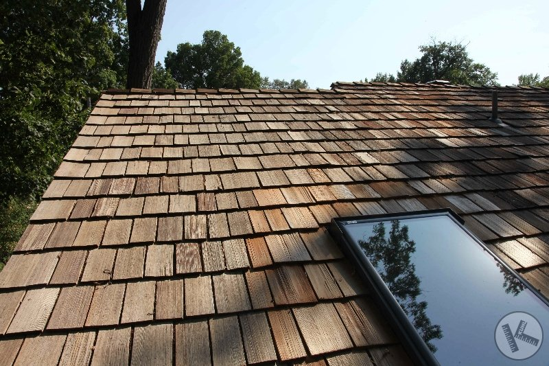 AFTER: Cedar Roof Cleaning in Minneapolis