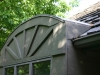 BEFORE: Rotten Siding Replacement on Bay Window in Edina