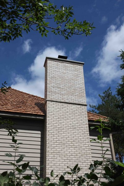 Plymouth chimney repair after 23l Kuhl's Contracting Chimney Repair