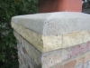 Stone Chimney Cap Masonry & Flashing Repair in Edina
