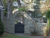 Stone Wall with Custom Designed Wood Gate in Edina