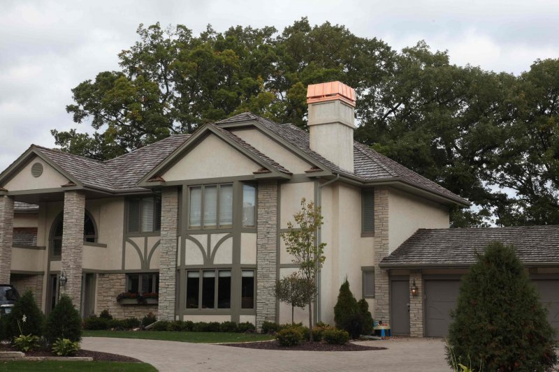 Copper chimney shroud custom metal chimney cover kuhls contracting Minneapolis