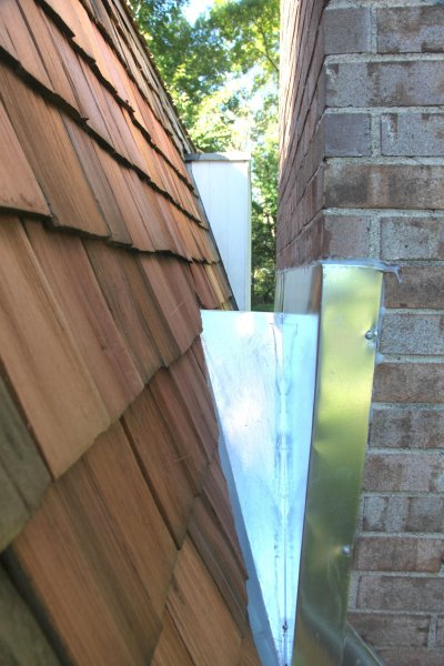 Minneapolis chimney leak fixed sheet metal KUHL