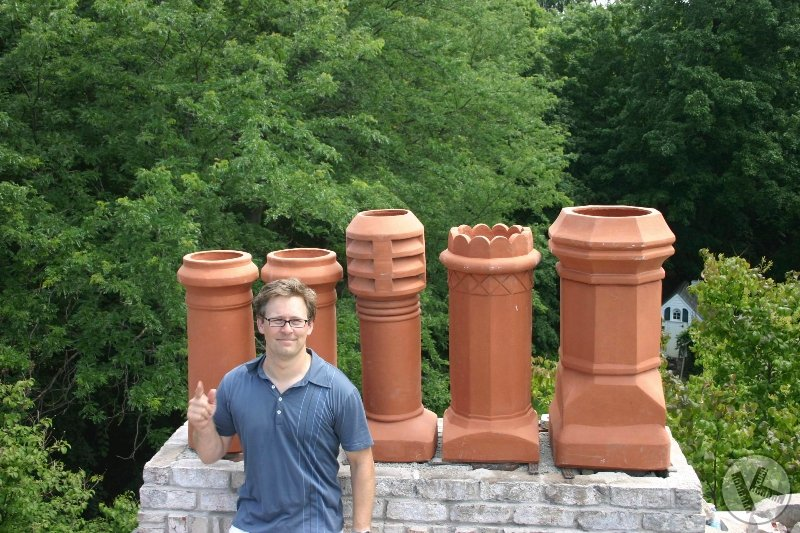Chimney Redesign and Reconstruction (Deephaven, Minnesota)