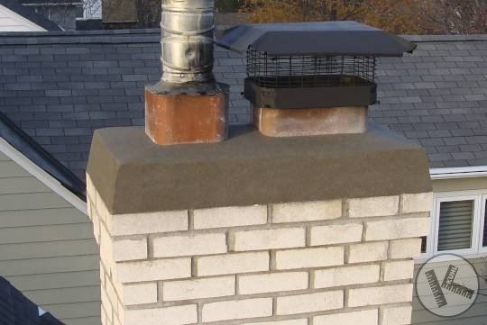 AFTER: New Chimney Cap Repair in St Louis Park