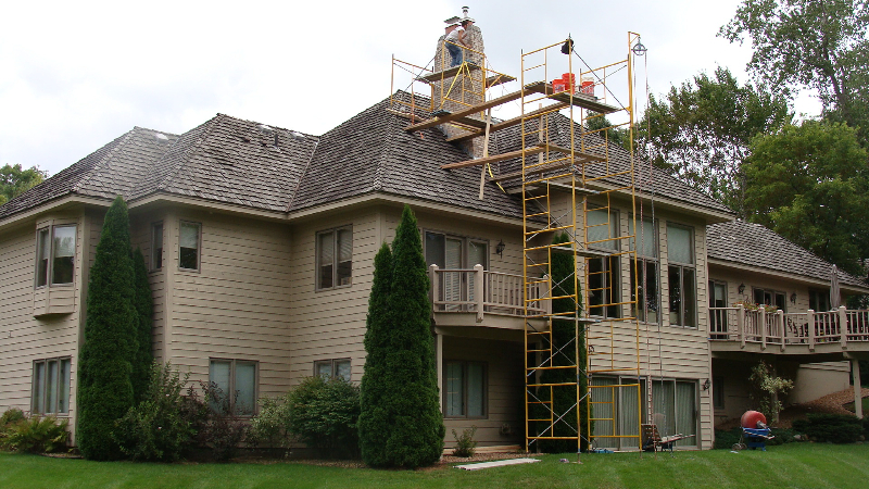 Minneapolis chimney repair in Orono