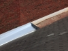 Commercial Steel Gutter Half New/Half Old in Minneapolis