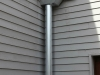Galvanized Steel Collection Box & Large Downspout in Greenwood