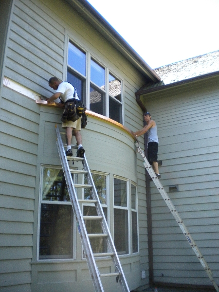 installation-of-custom-fabricated-copper-gutters