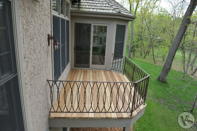 AFTER: Cedar Deck Replacement