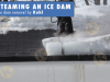 Ice dam steaming and prevention Kuhl Minneapolis Ice dam prevention
