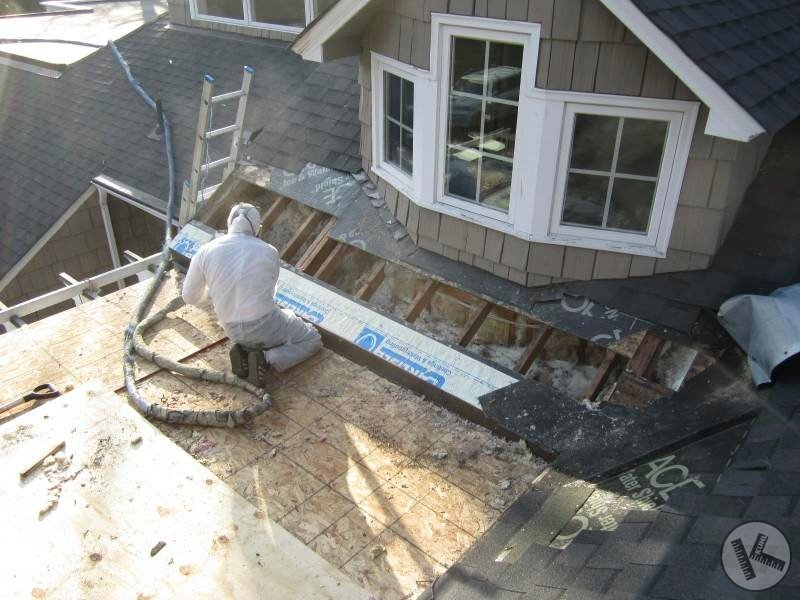 Ice Dam Prevention Insulation Installation in Minneapolis