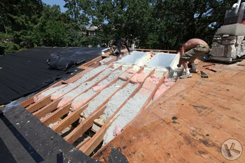 New Insulation on Skylights with Ice Dam Problems