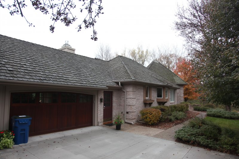 Wood roof replacement Golden Valley before Kuhl