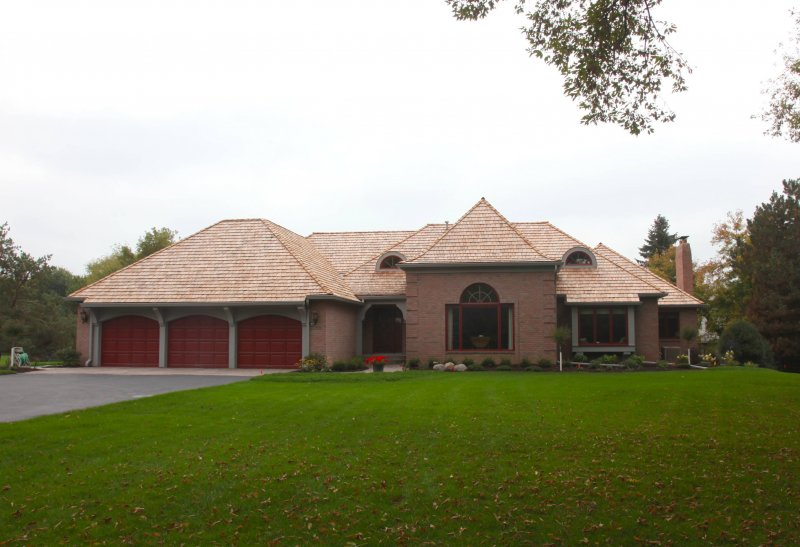 Insurance claim for cedar shake roof in Minneapolis hail damage contractor kuhls contracting after