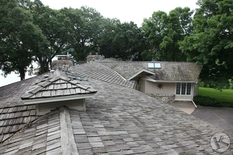 BEFORE: Roof Replacement & Chimney Repair in Minneapolis