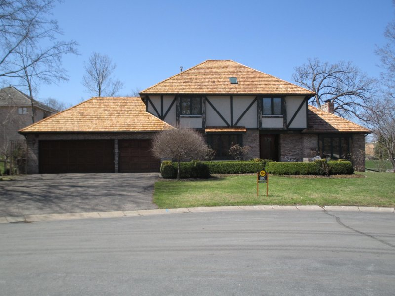 wood roof replacement lifespan in woodland lake minnetonka area after