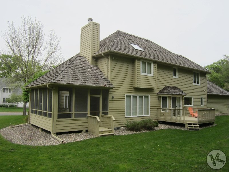 BEFORE: Cedar Shingle Reroof in Minnetonka