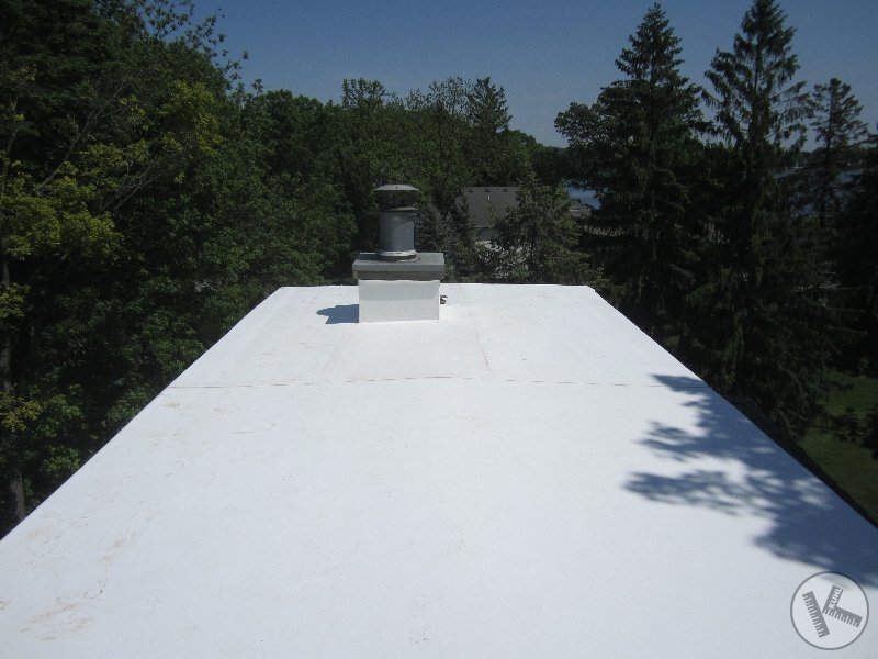 New Flat Rubber TPO Roof Company in Minneapolis