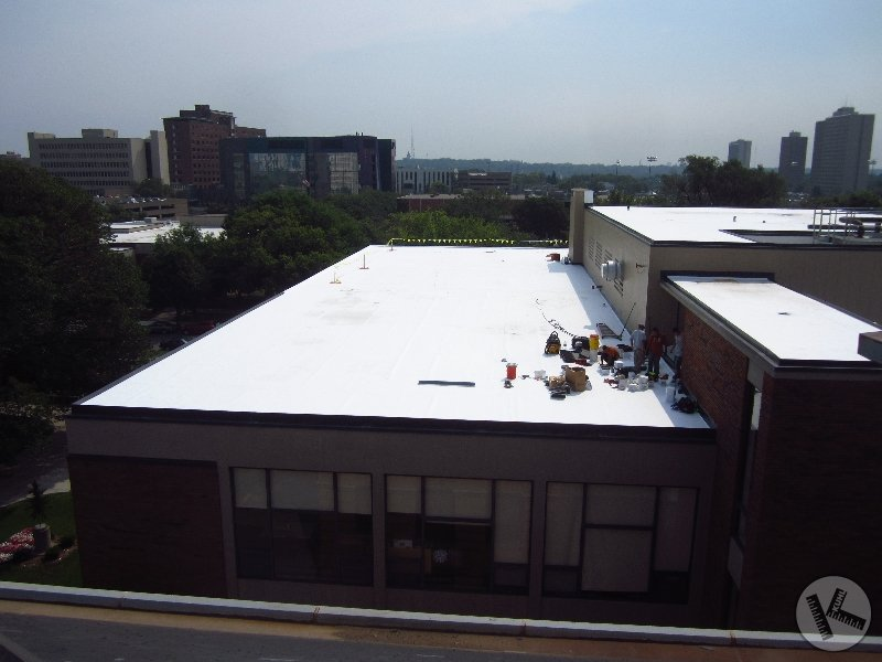 Commercial Flat Roof Work on Edina Warehouse