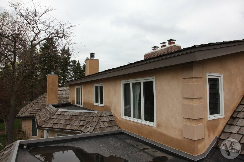 BEFORE: Leaking Flat Roof Replaced with Copper in Deephaven