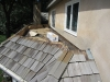 BEFORE: Flat Roof Replaced with Copper in Deephaven