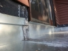 Flat Roof Under a New Deck Made of Steel in Edina - Close Up