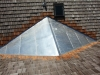Large Galvanized Steel Roof Saddle in Victoria Minnesota