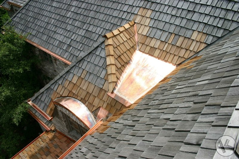 Bad Roof Design Resolved with Custom Metal & Brains