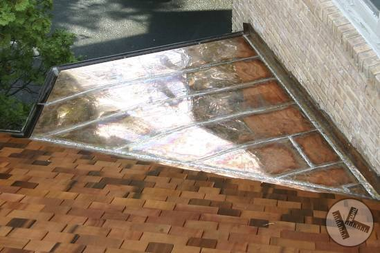 AFTER: Old Crusty Steel Roof After Replacement in Edina