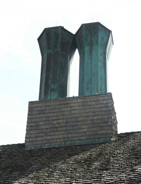 sheet metal aged copper chimney flashing minneapolis kuhls contracting sheet metal fabricator and finisher before