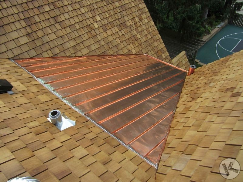 Standing Seam Metal Copper Roof in Minneapolis