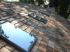 AFTER: Skylight Replacement & Cedar Roof Washing