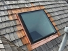 AFTER: New Flashing Around Skylight on Cedar Roof in Orono