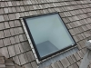 BEFORE: New Flashing Around Skylight on Cedar Roof in Orono