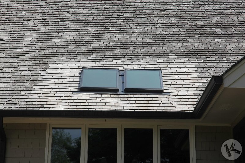 Skylight Replacement One-Year Later on Cedar Roof in Wayzata