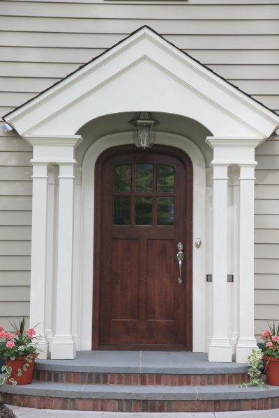 Kuhl custom front door in Edina Minneapolis