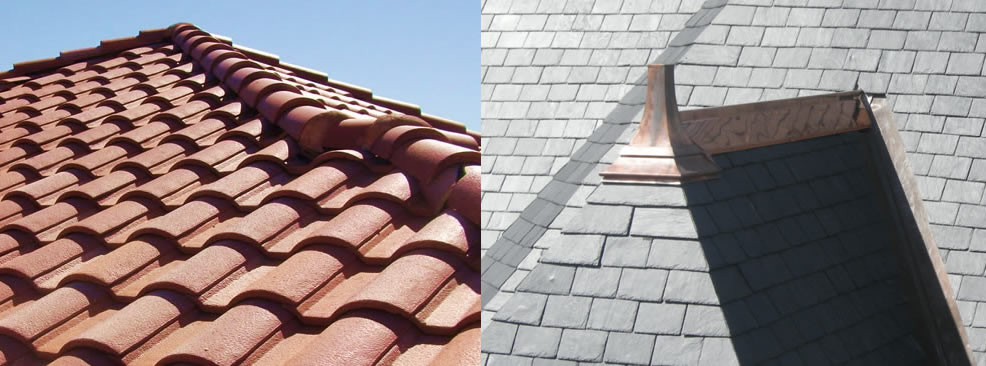 Tile, Slate & Other Roof Materials
