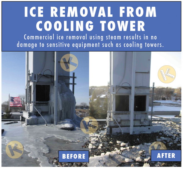 Commercial ice removal
