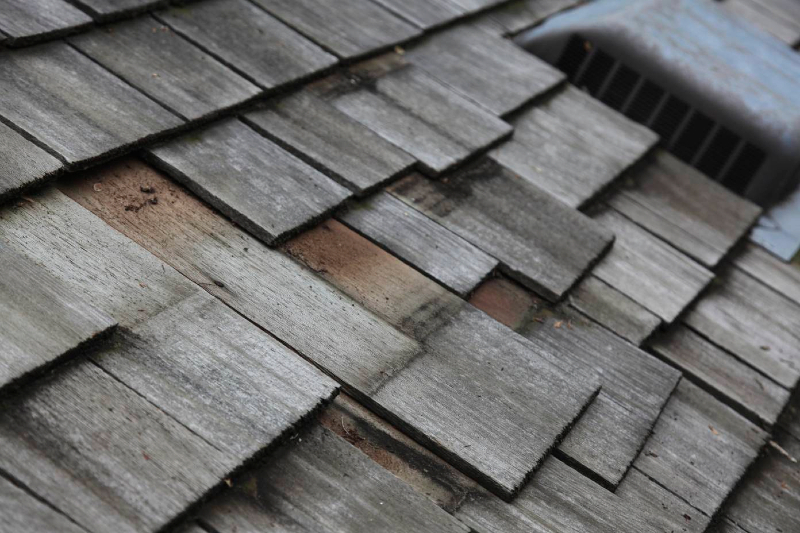Wood roof not installed properly in Minneapolis