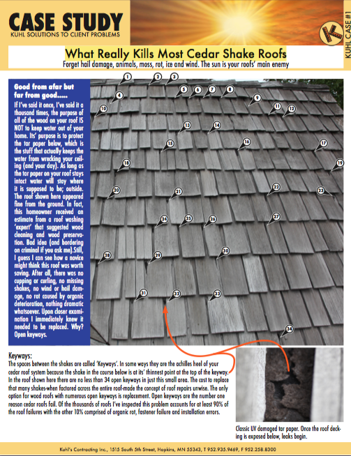 What Really Kills Most Cedar Shake Roofs